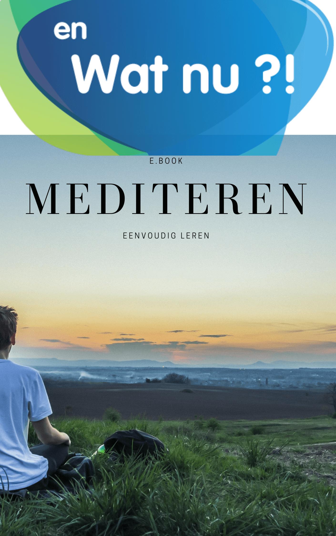 Gratis ebook 'Mediteren kun je leren